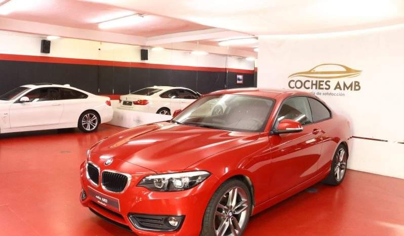 BMW 220IA COUPE lleno