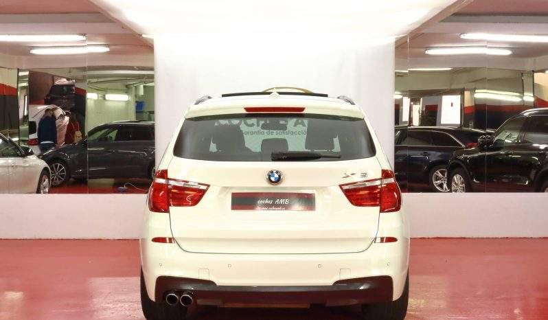 BMW X3 XDRIVE30D 5p. lleno